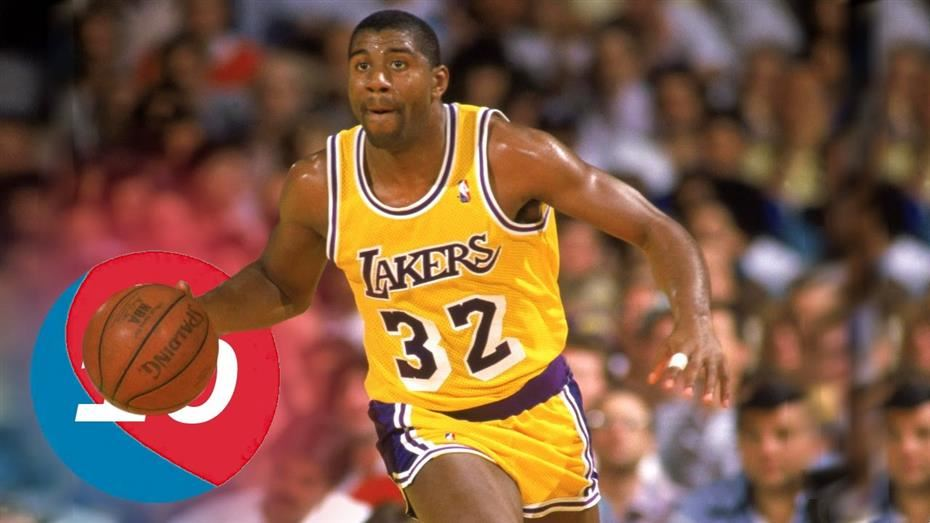Magic Johnson of Lakers