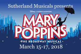 Mary Poppins, March 15-17, 2018