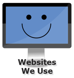 Websites We Use