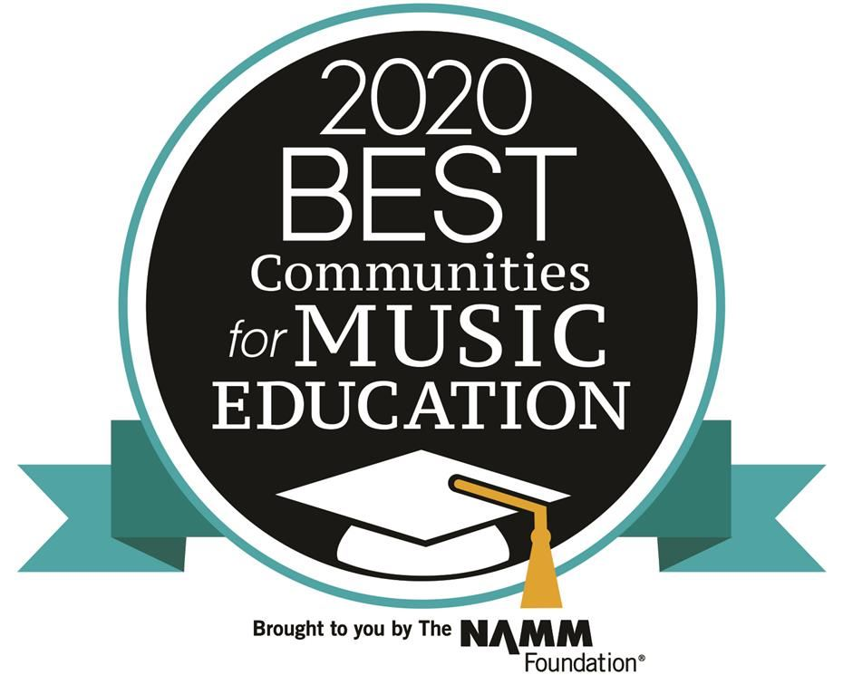 2020 Best Communities for Music Education brought to you by The NAMM Foundation