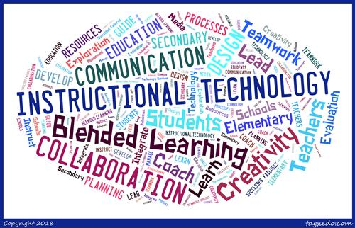 Instructional Technology Tagxedo word bundle