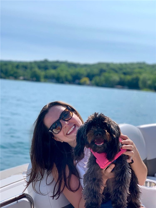Sophie on Canandaigua Lake