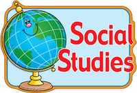 Social Studies sign with globe