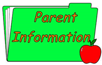 Green folder labeled Parent Information