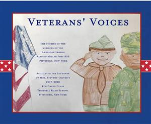 Veterans' Voices book cover
