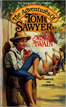 Tom Sawyer book cover