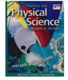 Return your Physical Science Textbook