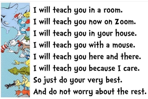 I will teach you...