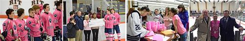 Pink the Rink Images