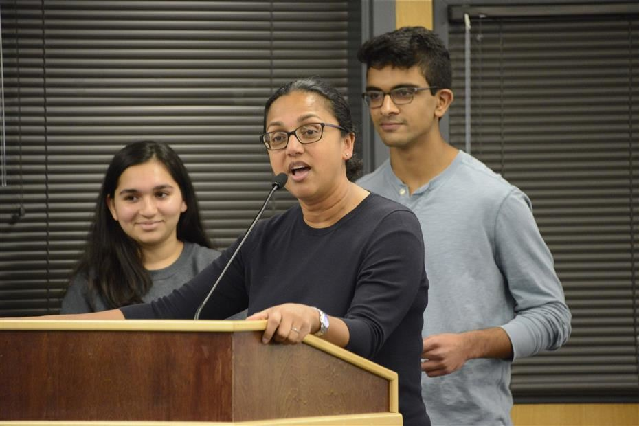 Inclusivity Advisory Committee speaks at Board of Education meeting