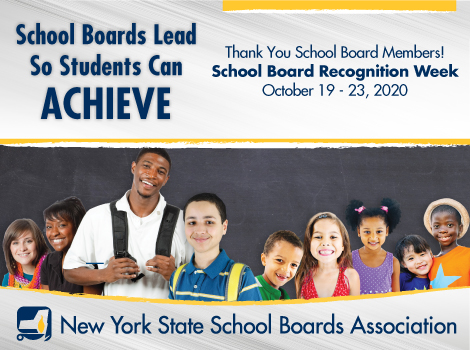 NYSSBA School Board recognition week