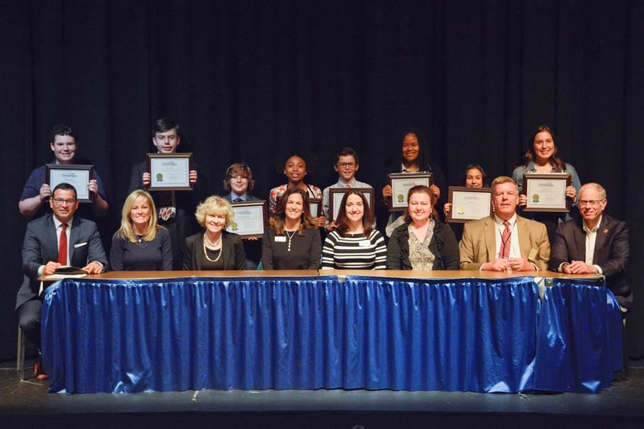 Board of Education Honors Pittsford Pride Recipients