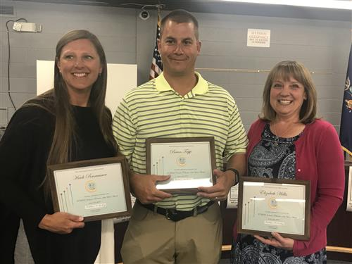 Inclusive Educators of the Year award recipients