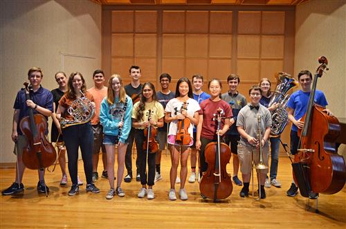Pittsford Students Selected for Hochstein Youth Symphony Orchestra