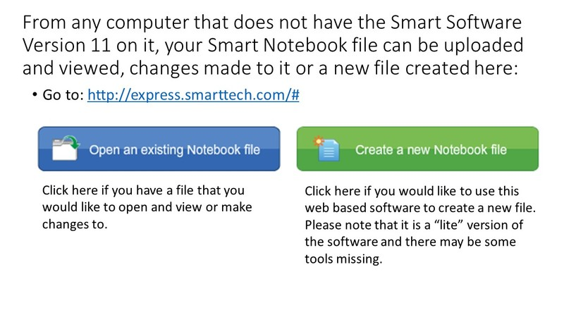 Technology and Data Services / Web Based Smart Notebook