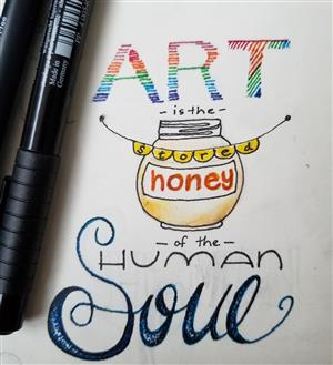 Art is the Stored Honey of the Human Soul