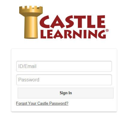 Castle Learning login